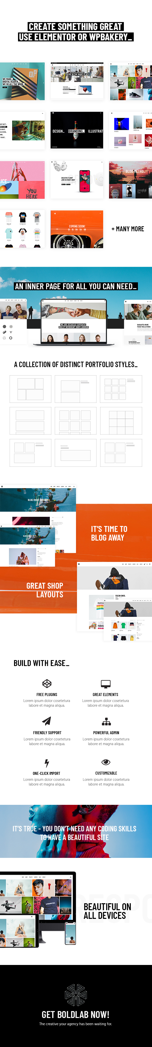Boldlab - Creative Agency Theme - 1